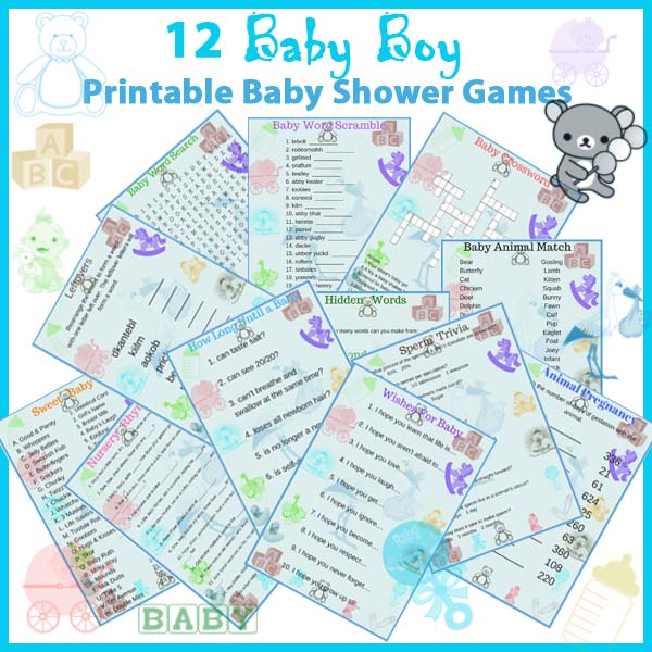 Fun Baby Shower Games Archives L And B Products